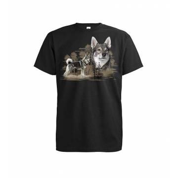 Musta DC Jämthund T-shirt