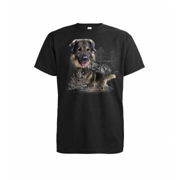 Musta Sarplaninac T-paita