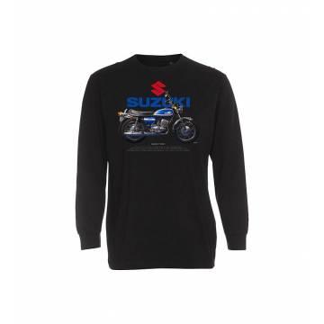 Black DC Suzuki 250 J  longsleeve T-shirt
