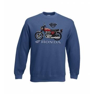 Navy Blue DC Honda CB 450 Sweatshirt