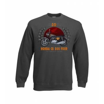 Charcoal DC Honda CB 500 Sweatshirt