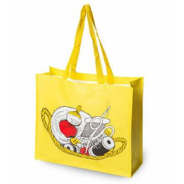 Yellow Moomin Shopping bag lilla My 134