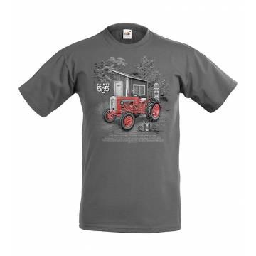 Grafiitinharmaa DC Valmet 565 T-paita